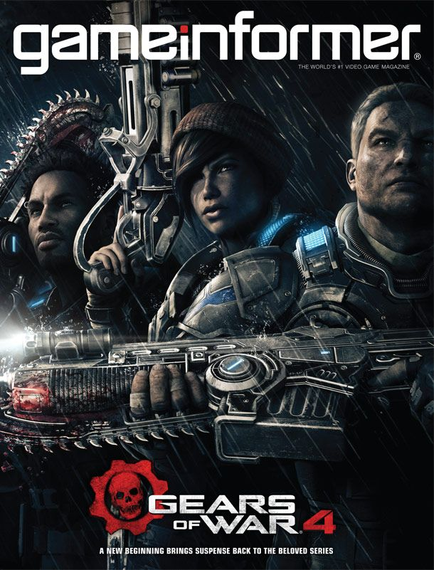 April Cover Revealed Gears Of War 4 Gears Of War Game