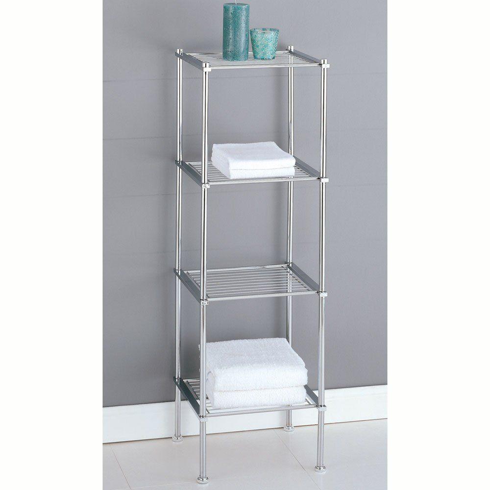 Amazon.com: Organize It All Metro 4-Tier Shelf (16984): Home ...