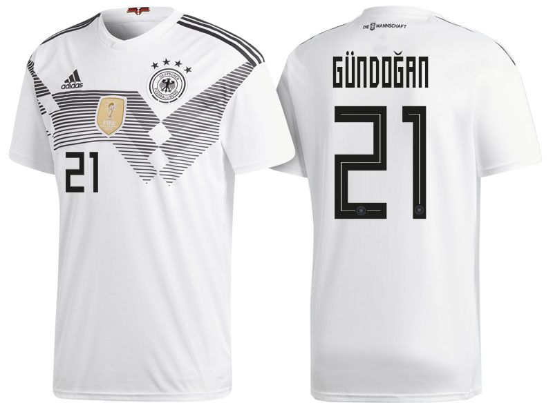 half off 54eeb 0e535 Germany 2018 World Cup Home Jersey ilkay gundogan | 2018 ...