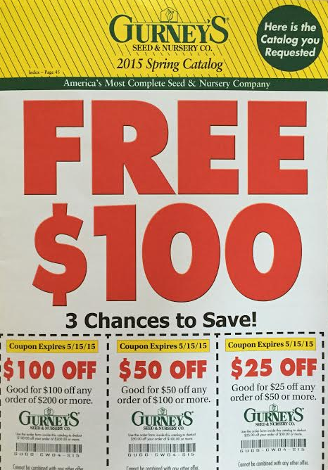 Picture Of A Free Seed Catalog From Gurney S Nursery Co
