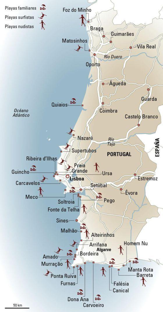 Pasarelas Al Atlantico Viajes Portugal Portugal Playas Y