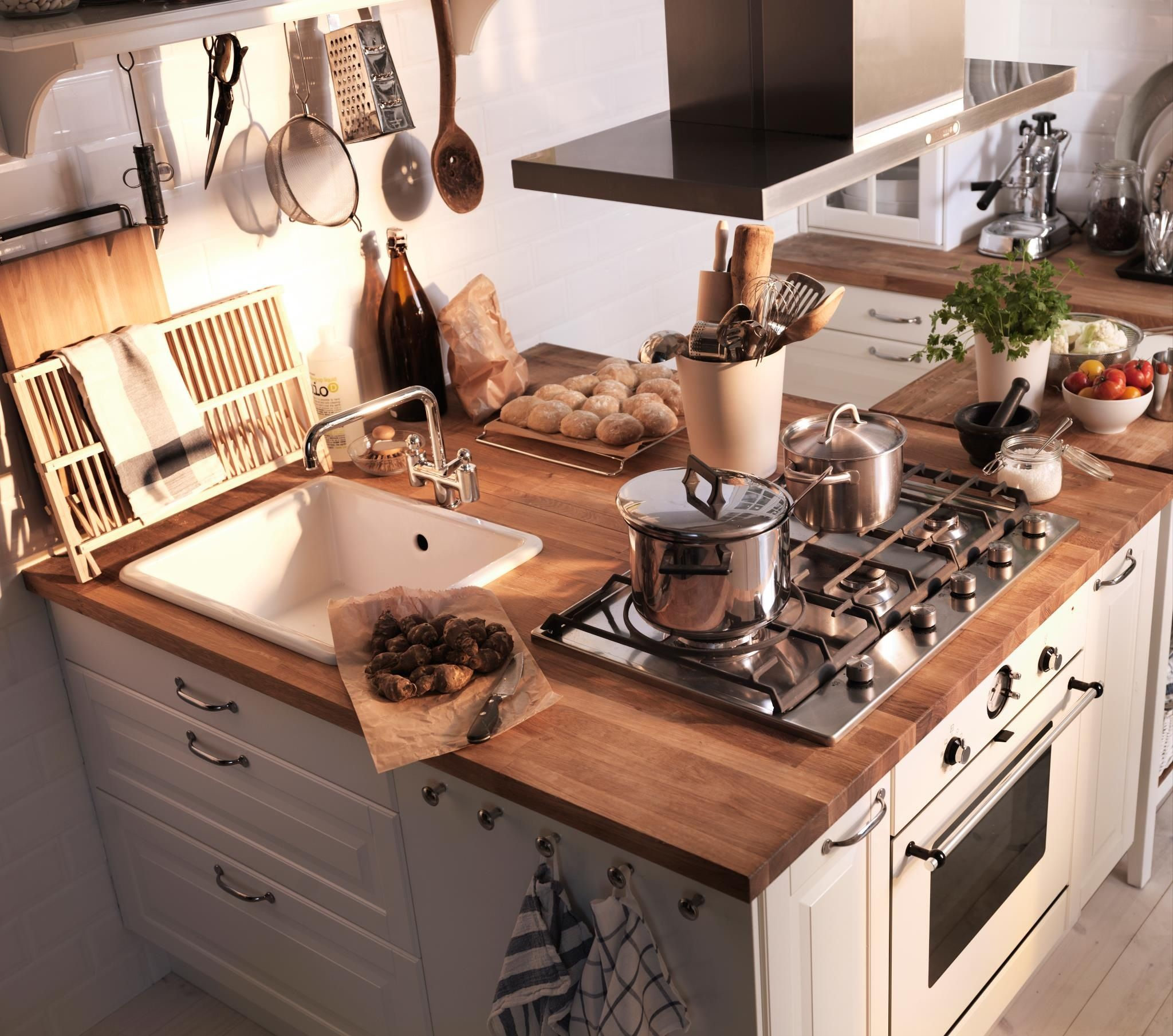Rustic Kitchen (Ikea)
