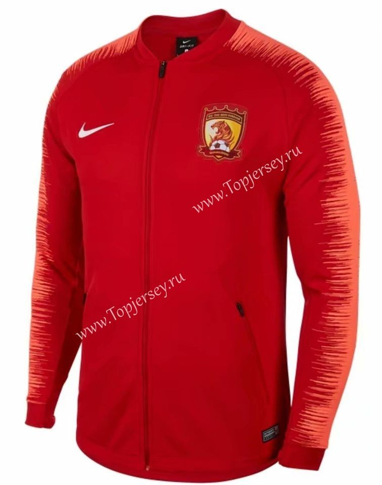 625be213618 2019-2020 Guangzhou Evergrande Red Thailand Soccer Jacket-LH
