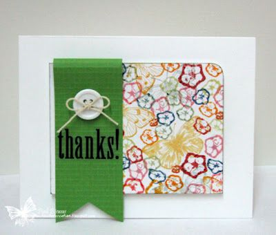 Bright Thanks Card by @Piali Biswas
