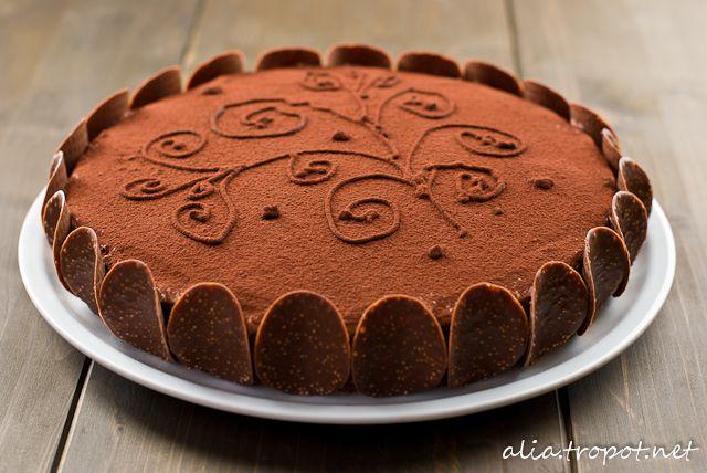 Bulgarian Chocolate Cake