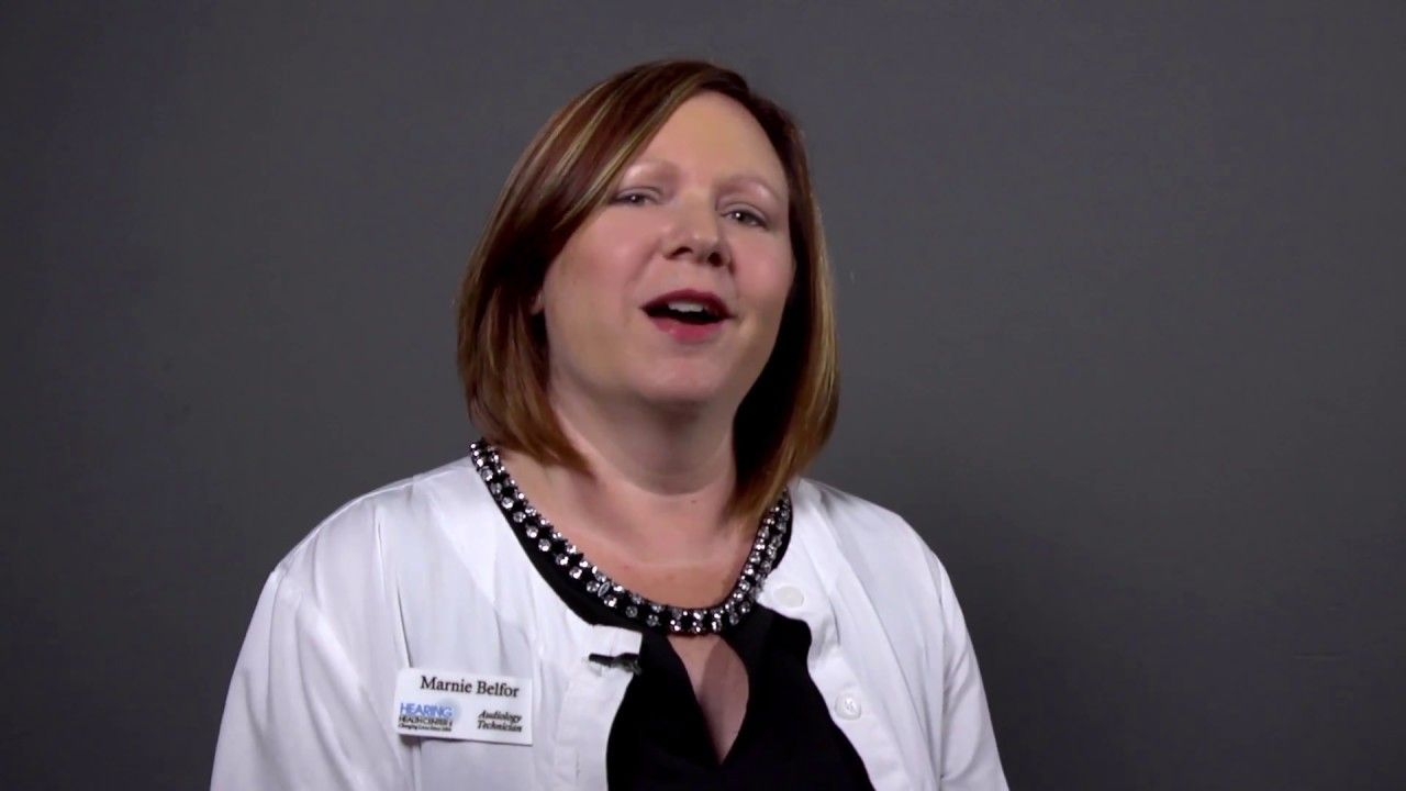 Hhcs audiology technician marnie belfor on her passion