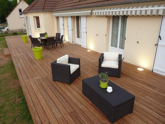 terrasse en bois Inspirations pour des projets de peinture et de