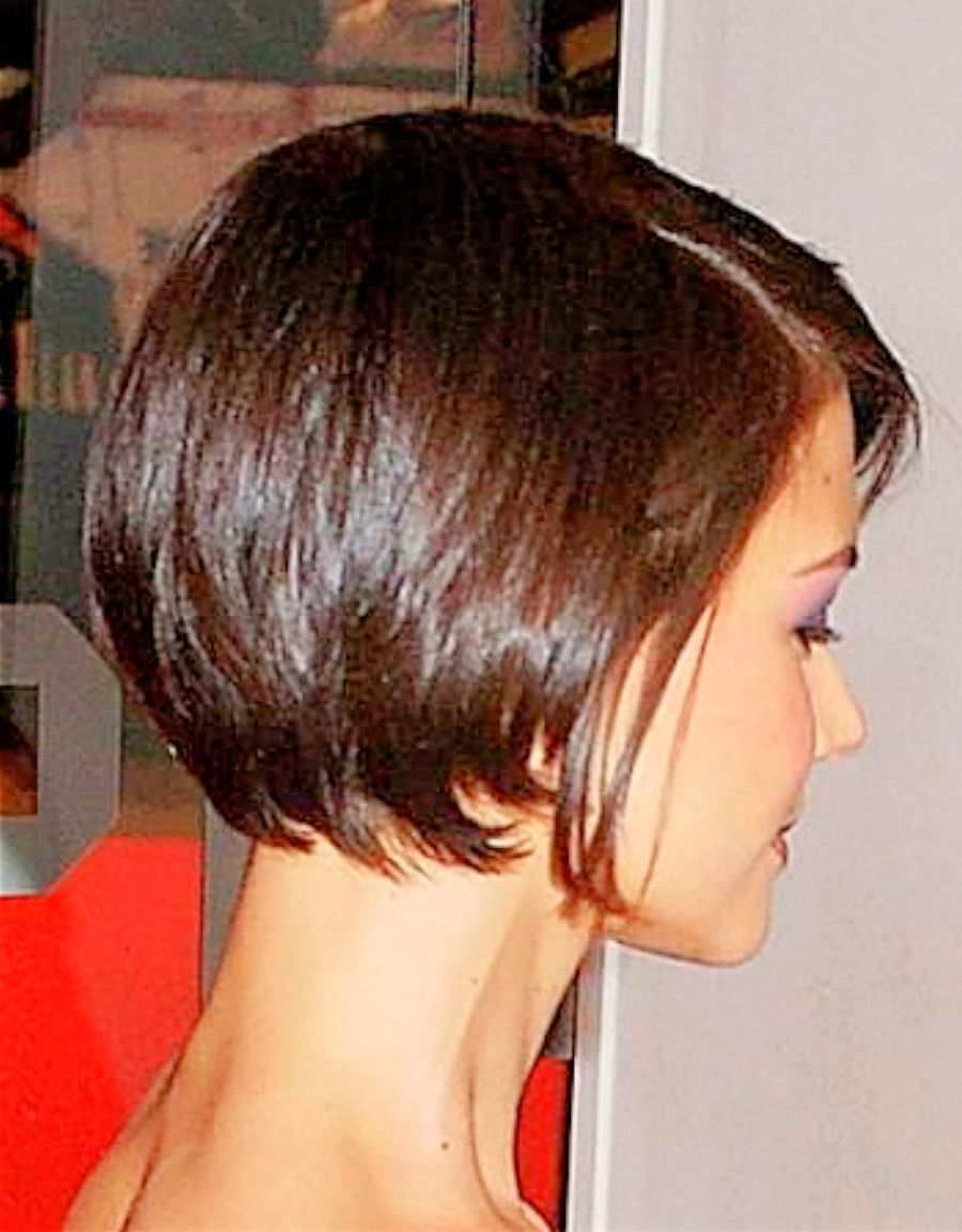 Katie Holmes Short Hair Back Google Search Short Hair Back Bob Haircut Back View Short Hair Haircuts