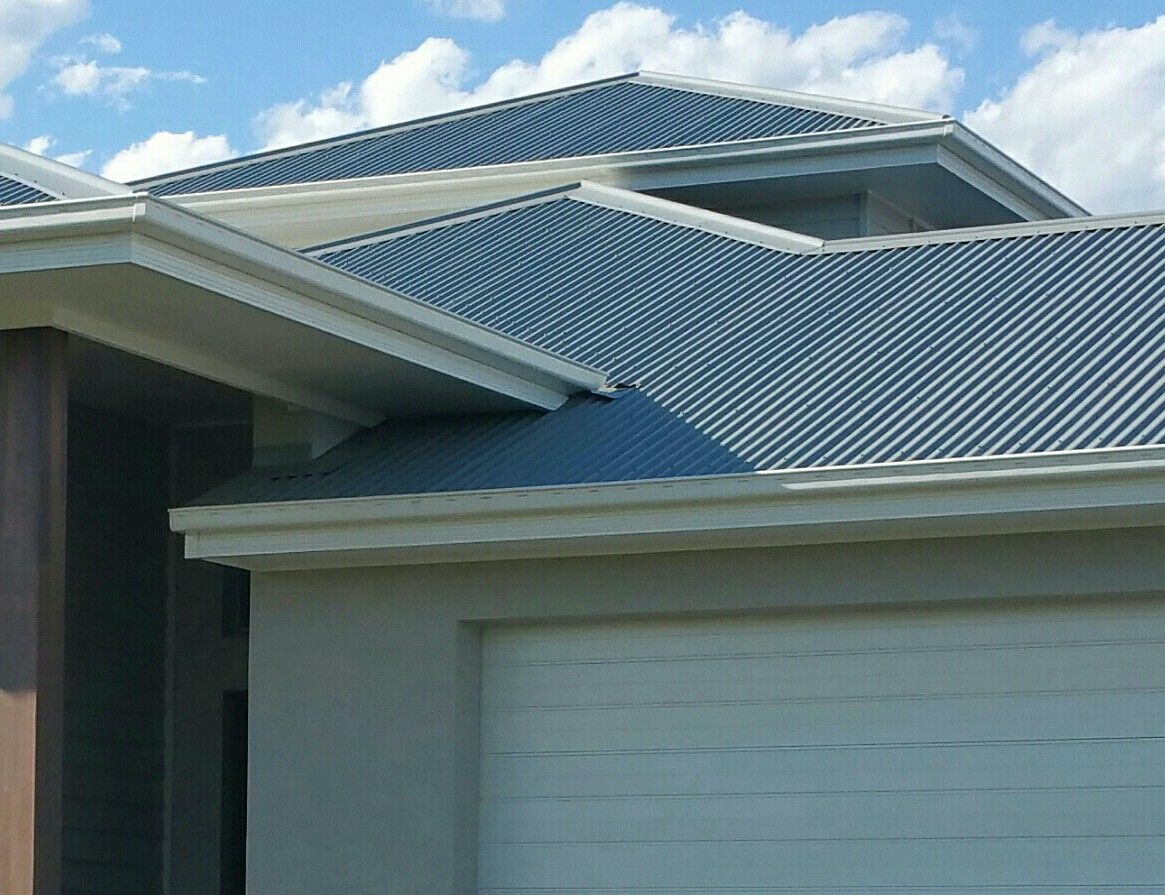 Best Colorbond Windspray Roof And Surfmist Gutter And Fascia 400 x 300