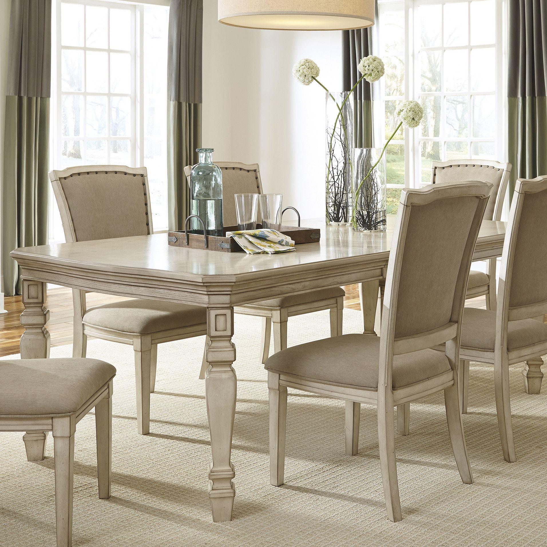 One Allium Way Philomena Extendable Dining Table