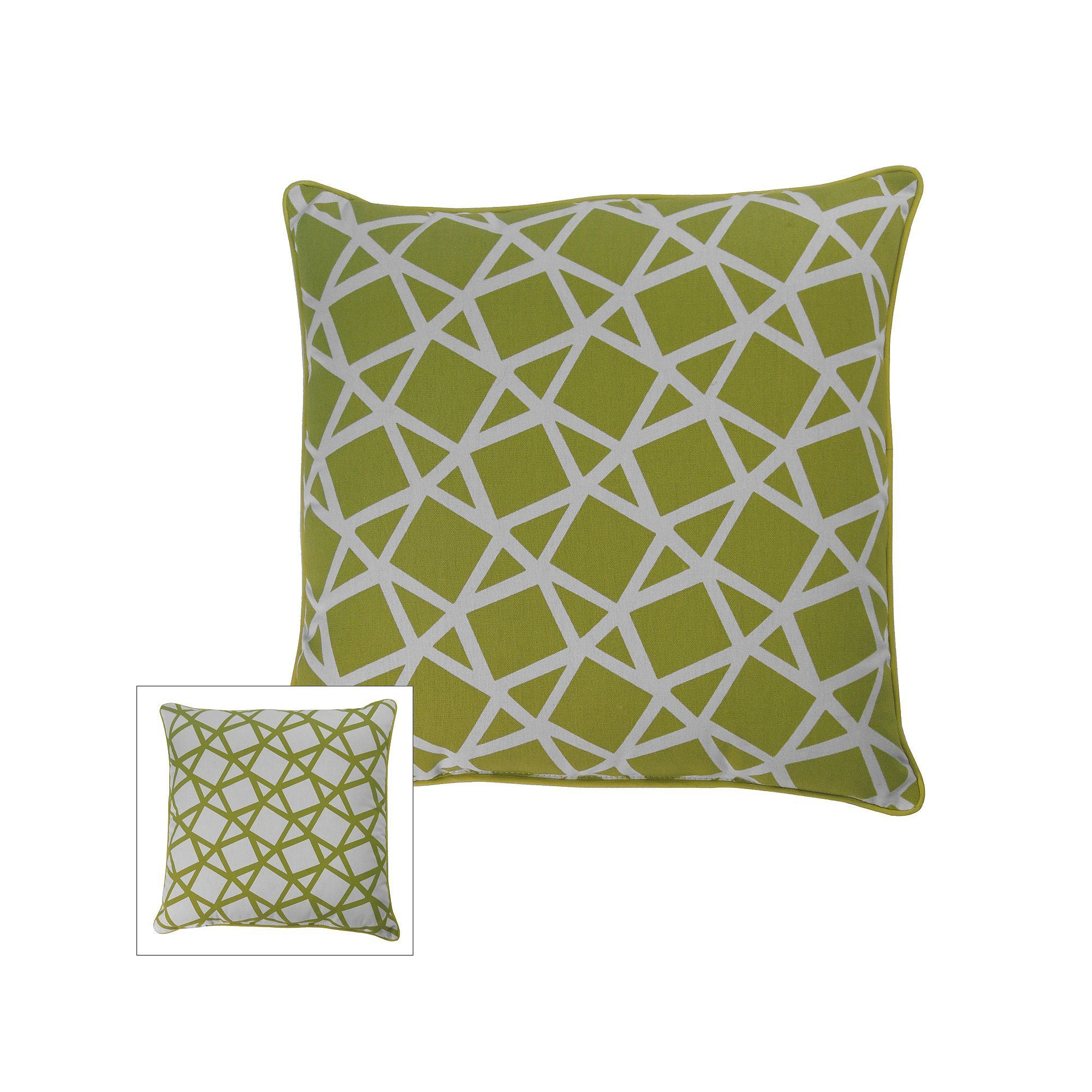 m kennedy home crystal geometric throw pillow yellow  products  - m kennedy home crystal geometric throw pillow yellow