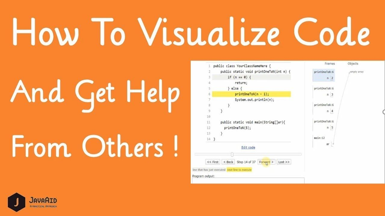 Python Tutor Java Visualizer Visualize Code Execution Of C Java Javascr Coding Tutor Interview Preparation