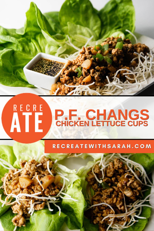 pf chang's chicken lettuce cups in 2020  chicken lettuce