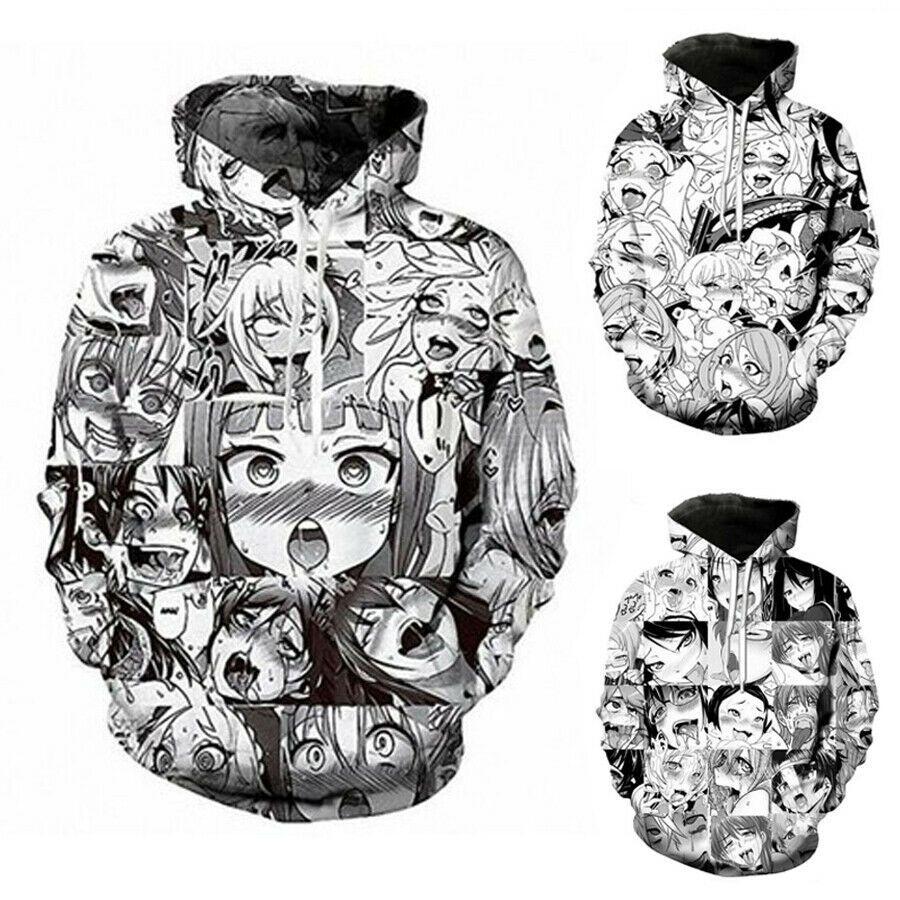 Artwork 3D Graphic Print Hoodie Men Women Sweatshirt Jacket Pullover Top Jumpers