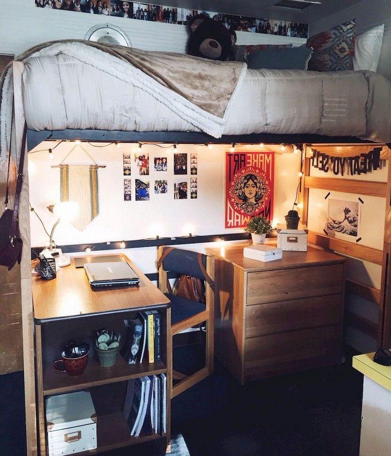 Minimalist Bedroomdesign Ideas: 45+ Admirable Dorm Room Space Saving Storage Ideas