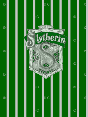 Slytherin fabric $18/yard