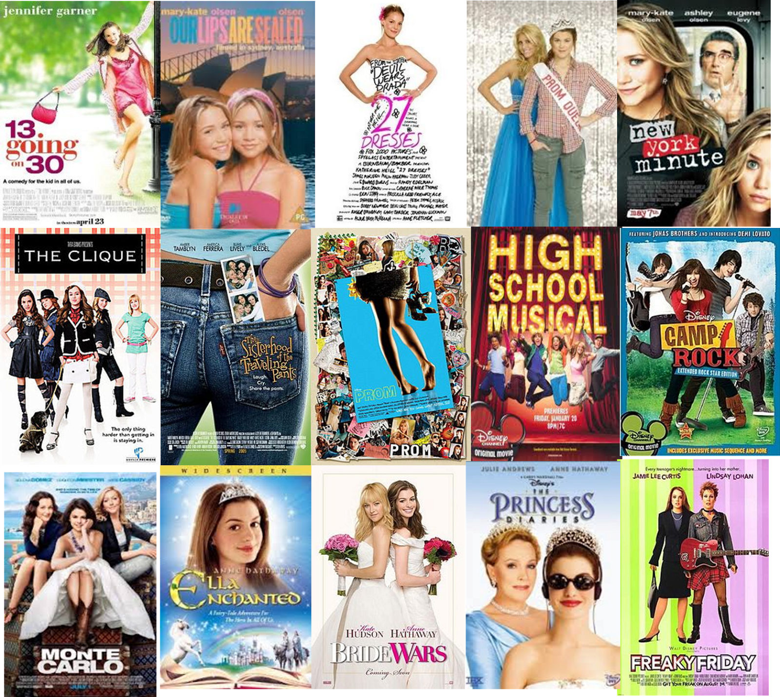 Good Girly Teen Movies