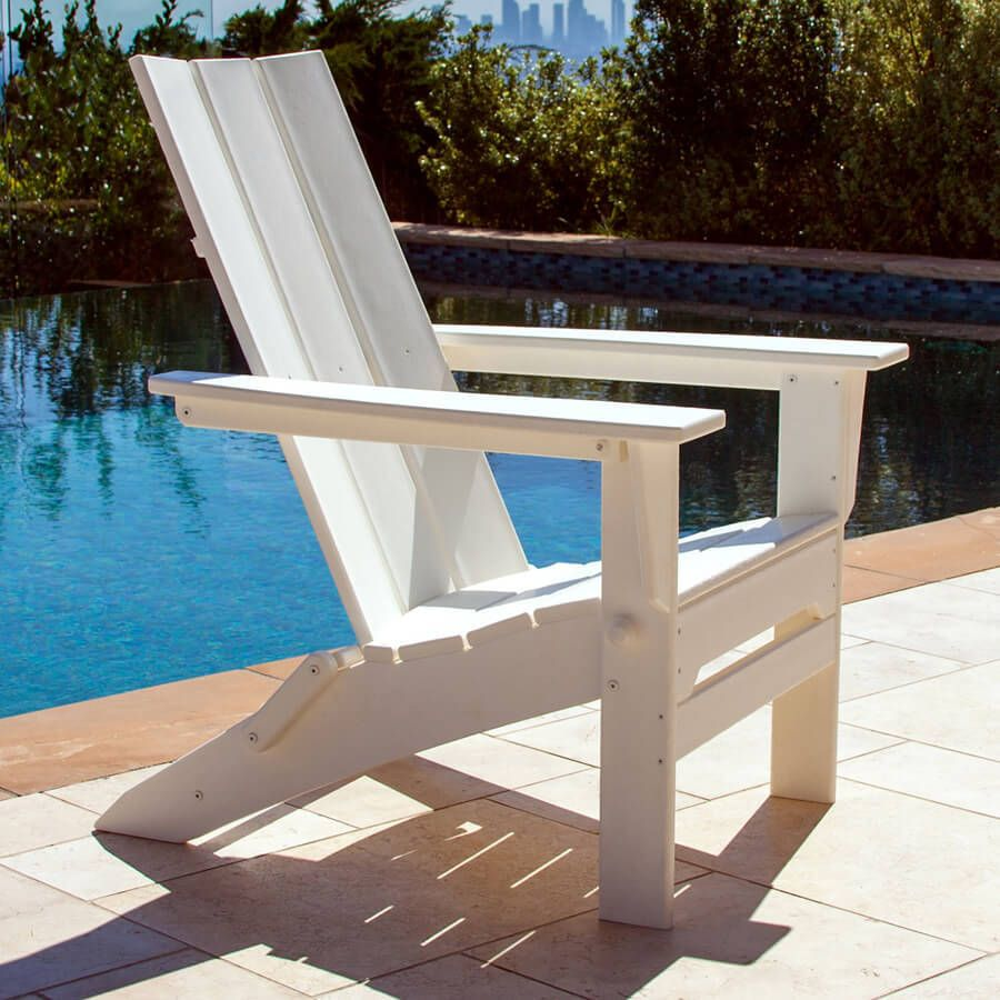Polywood Modern Trio Folding Adirondack Chair Cheap Modern