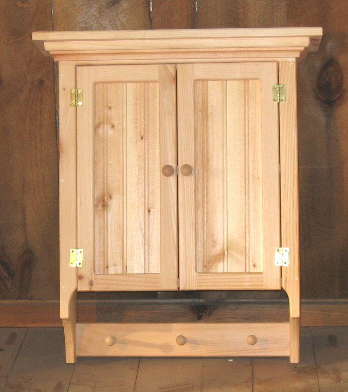Unfinished Wood Medicine Cabinet | Bindu Bhatia Astrology