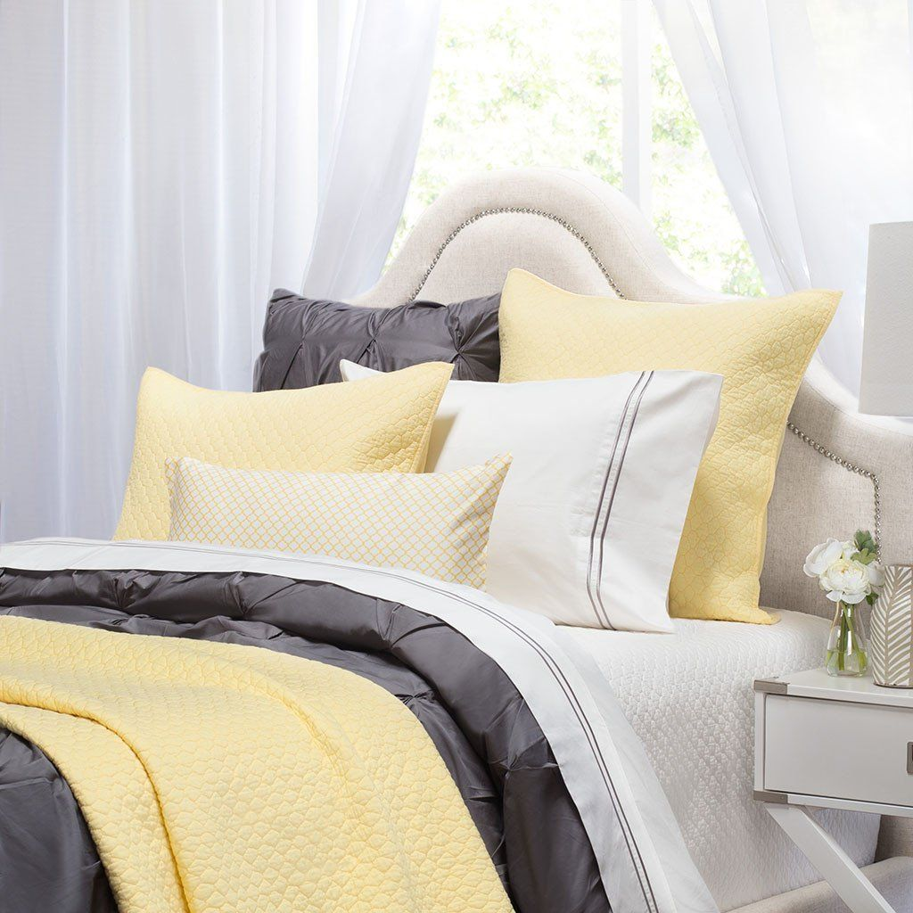Photo of The Cloud Yellow Quilt & Sham