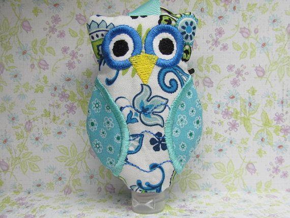 Owl Hand Sanitizer Bottle Holder by WillowbendCottage on Etsy
