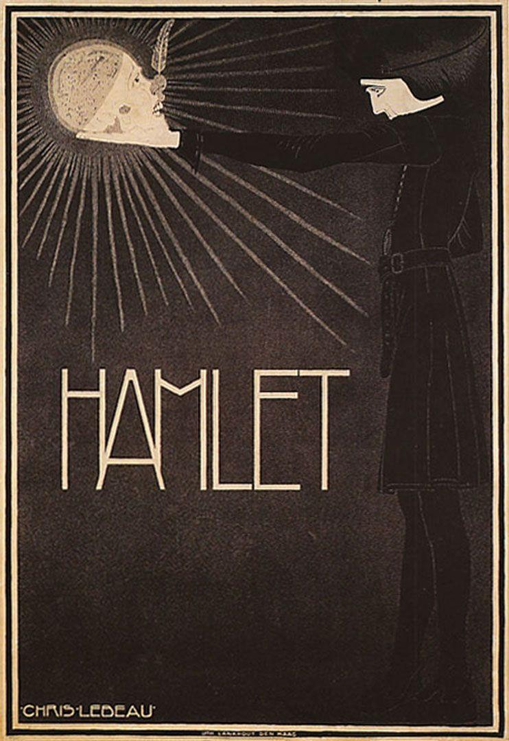 Hamlet - Vintage Theatre Posters Wallpaper Image | POSTER ...