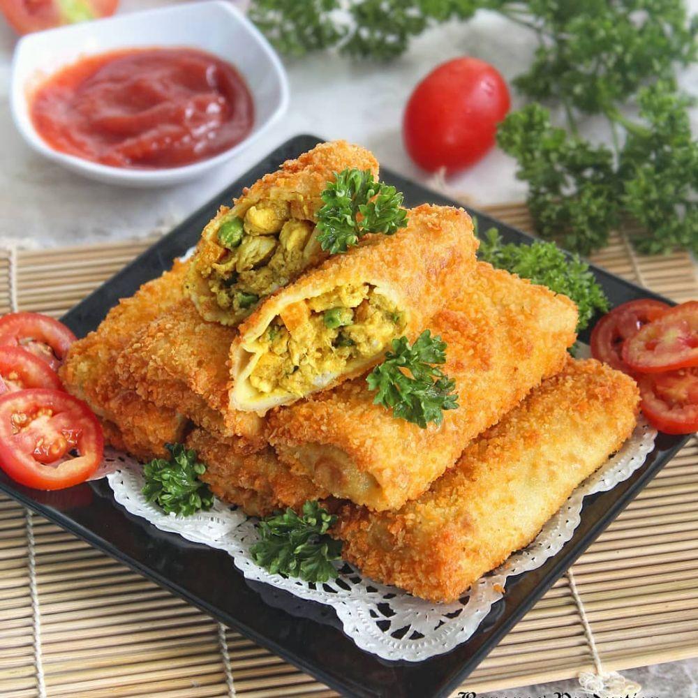 Resep Risol Sayur C 2020 Brilio Net Di 2020 Resep Makanan Ringan Gurih Fotografi Makanan