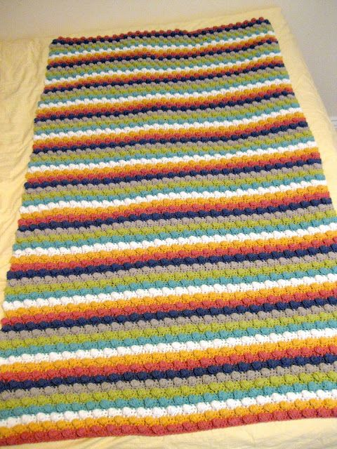 All Things Bright and Beautiful - Bobble blanket