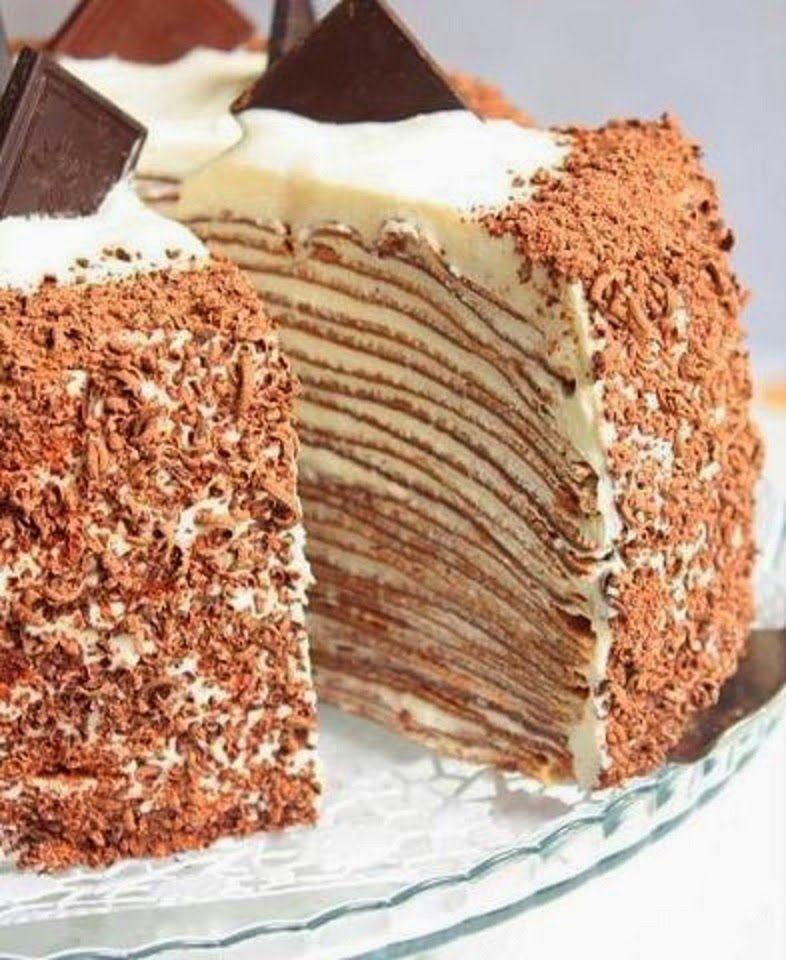 рецепты тортиков из блинчиков