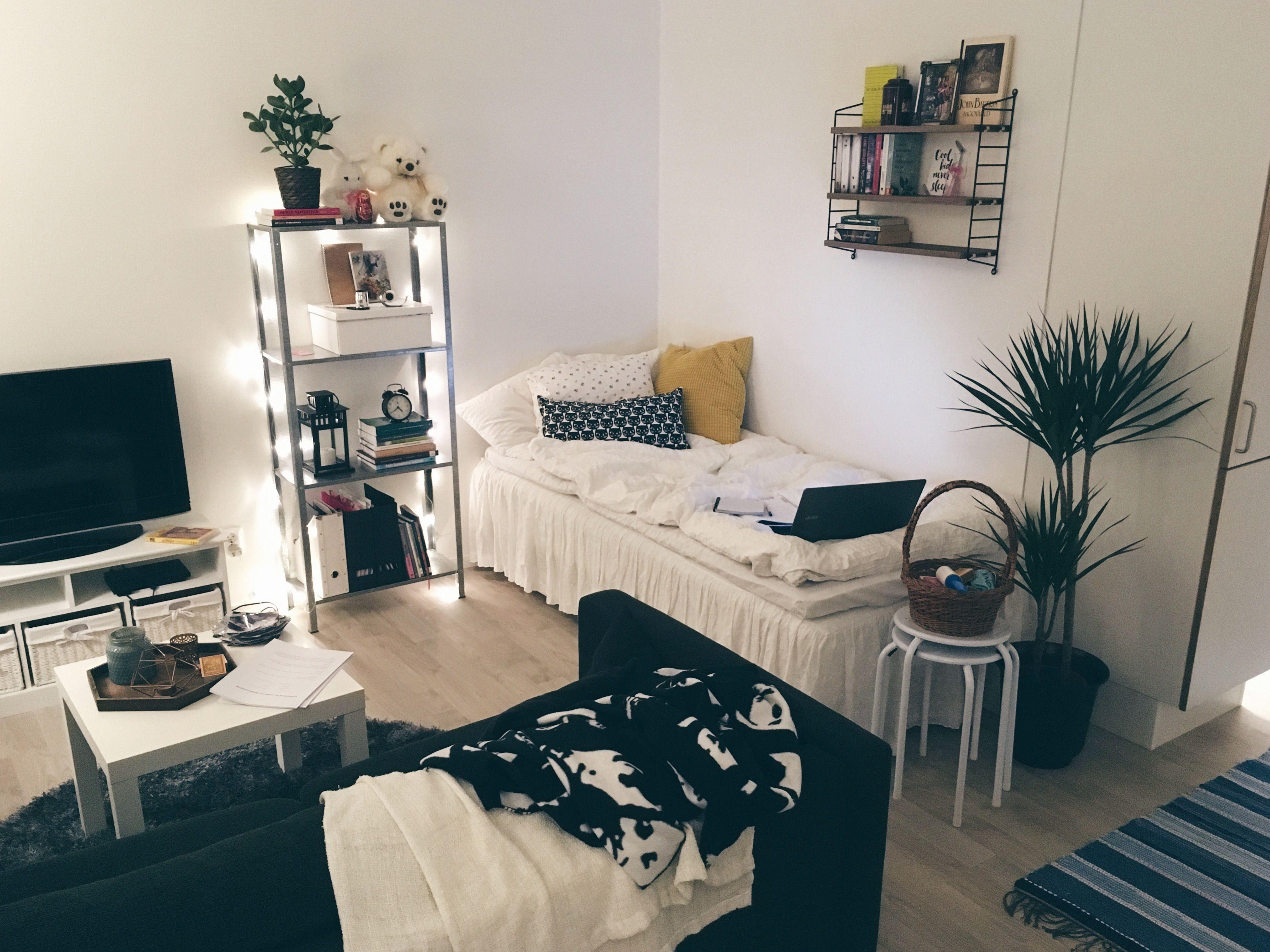 Layout Idea Studio Apartment Decorating Apartment Layout