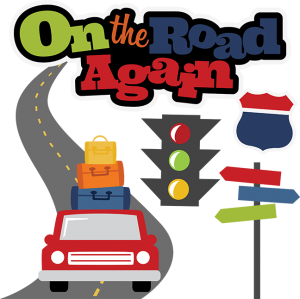 on the road again svg scrapbook file vacation svg files road trip rh pinterest com summer road trip clipart road trip clipart black and white