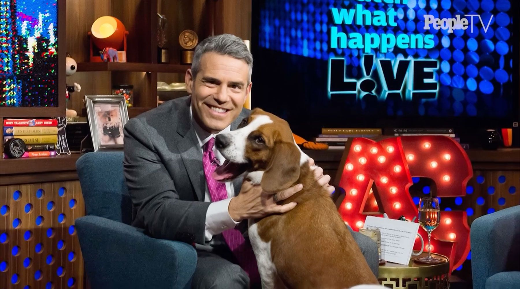 Andy Cohen And His Rescue Dog Wacha Are Completely In Love