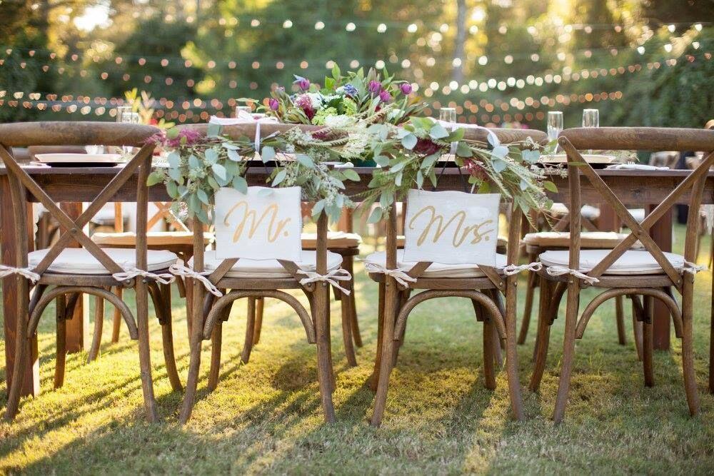 Farm Table Rental By Oconee Events Atlanta Athens And Lake Oconee Outdoor Farmhouse Table Farm Table Wedding Chairs