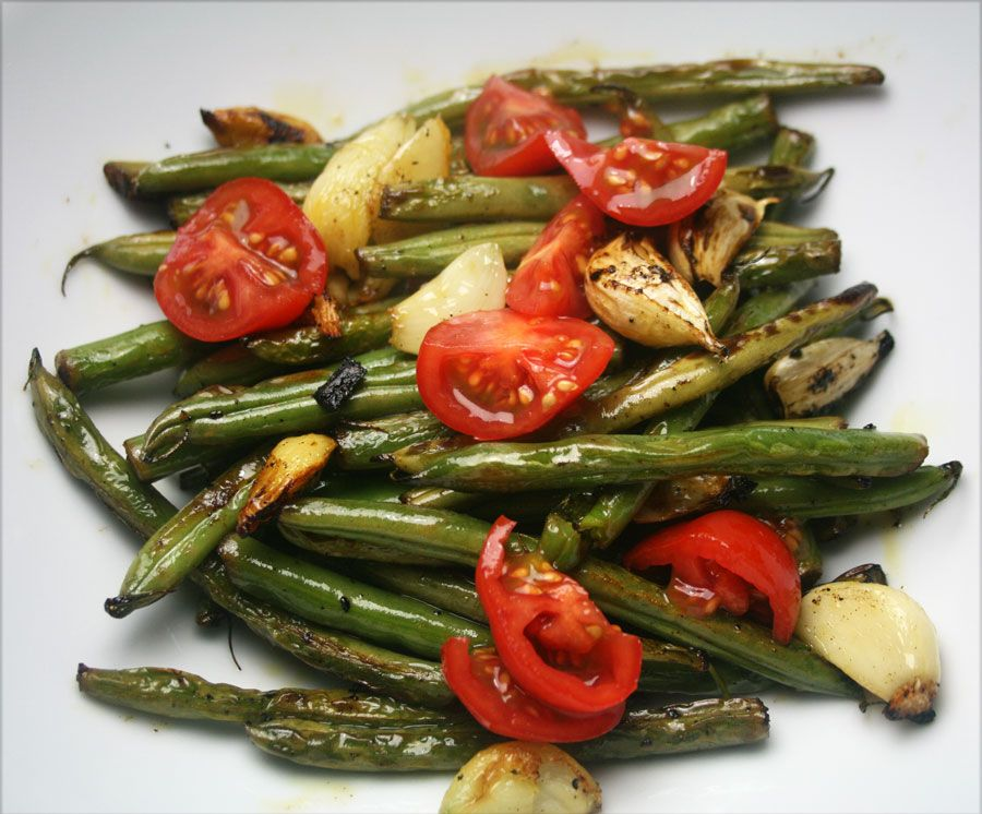 Sweet, garlicky and healthy all at once!!! French Beans