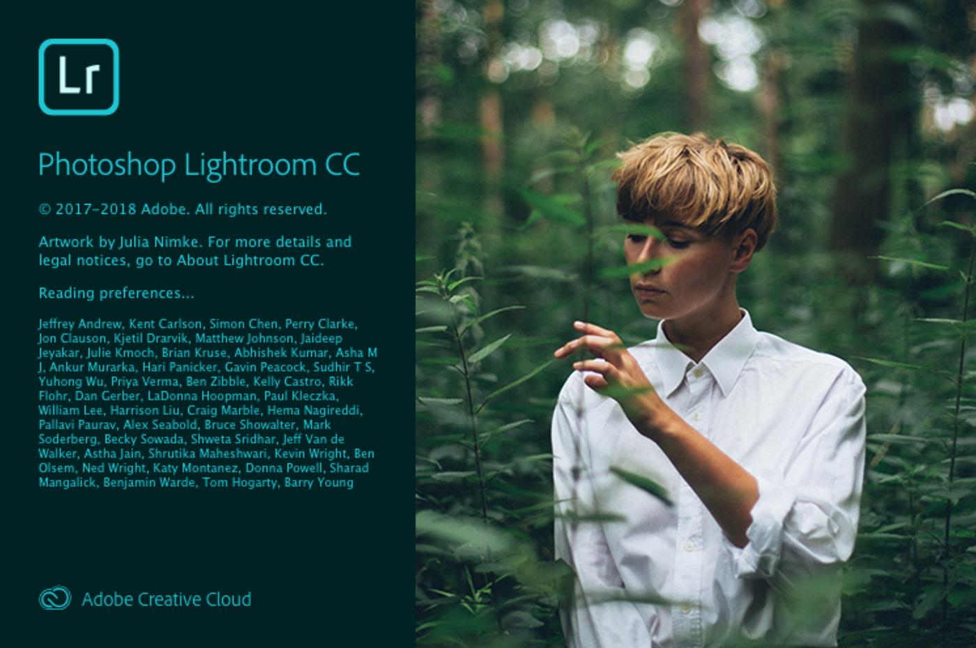 Lightroom 2017 cc