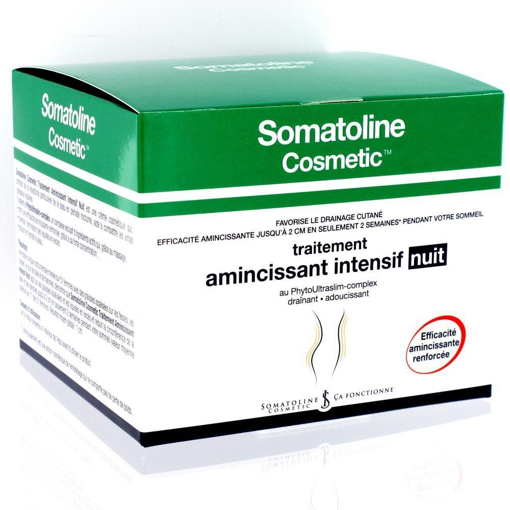 Somatoline Cosmetic Amincissant Intensif Nuit 450ml Pharmacie
