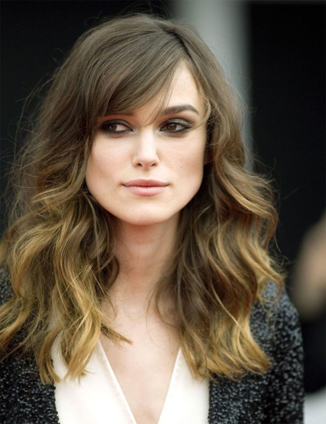 Delightful Elegant Keira Knightley Long Wavy Haircuts