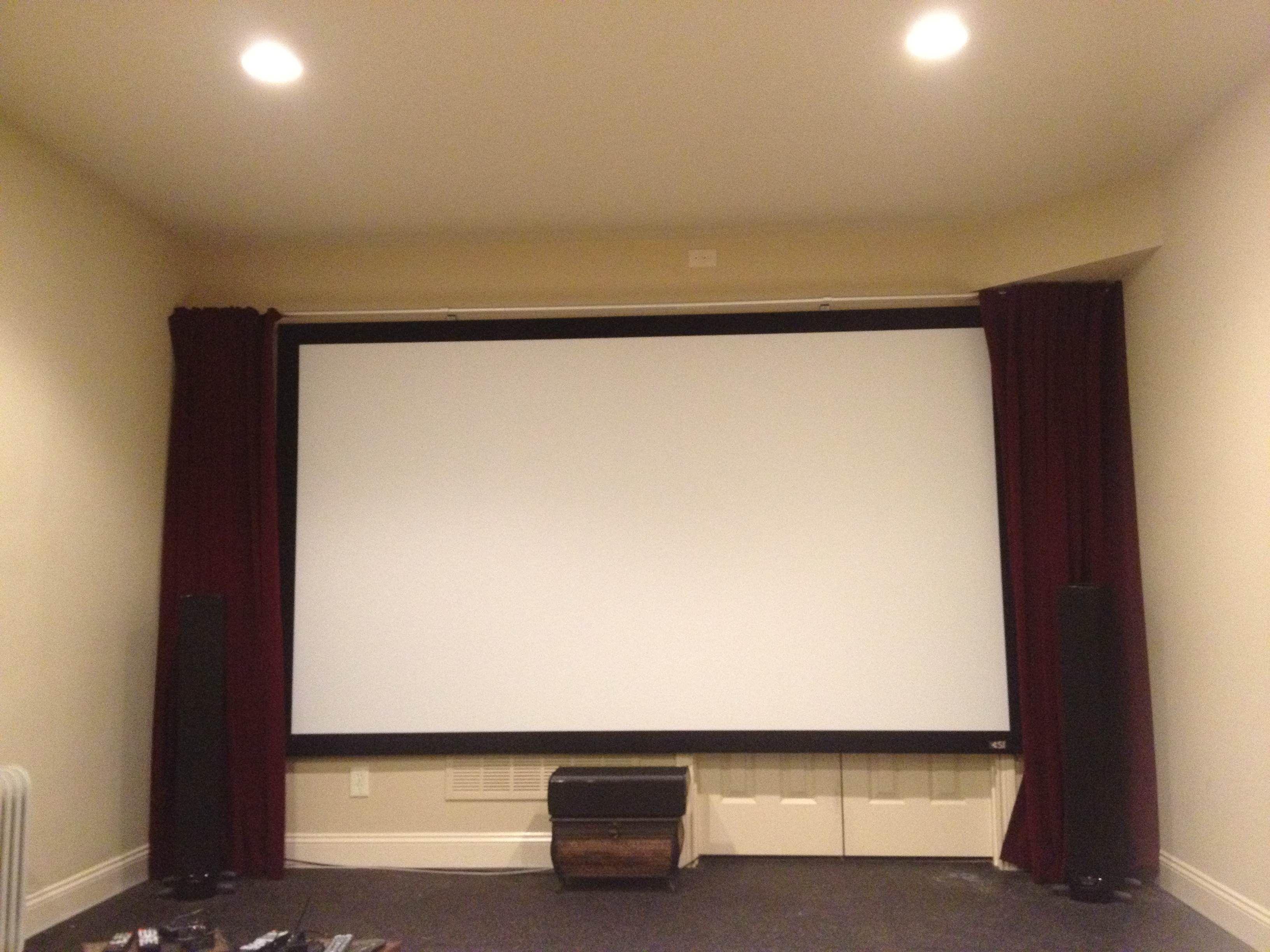 Elegant Custom Made Velvet Curtains Home Theater Curtains Movie