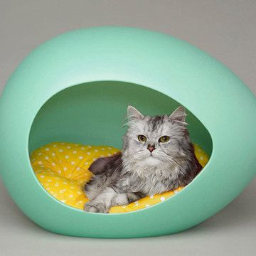 Pei Pod For Kitty At Fab Com With Images Pet Pods Cat Pod