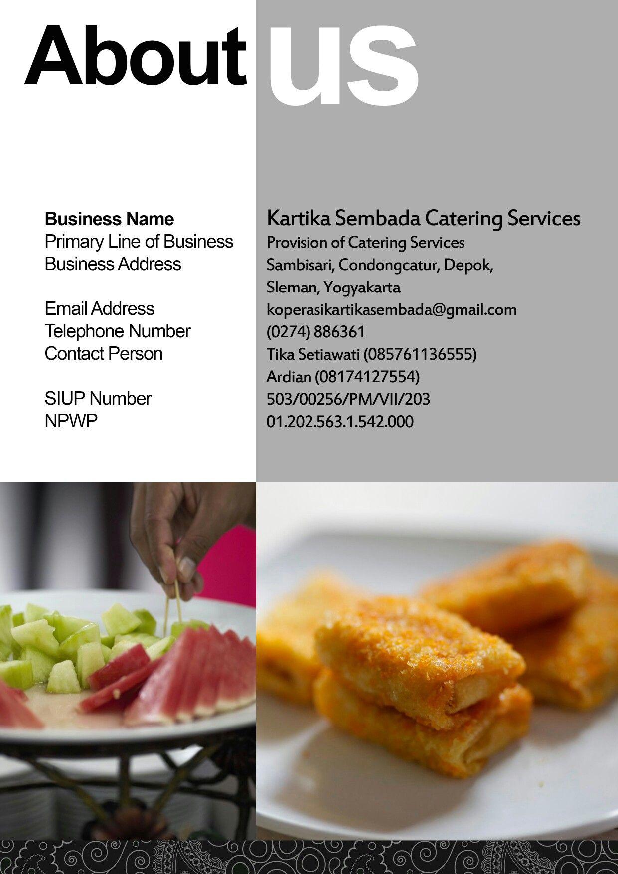 pany profile catering design pany profile web it