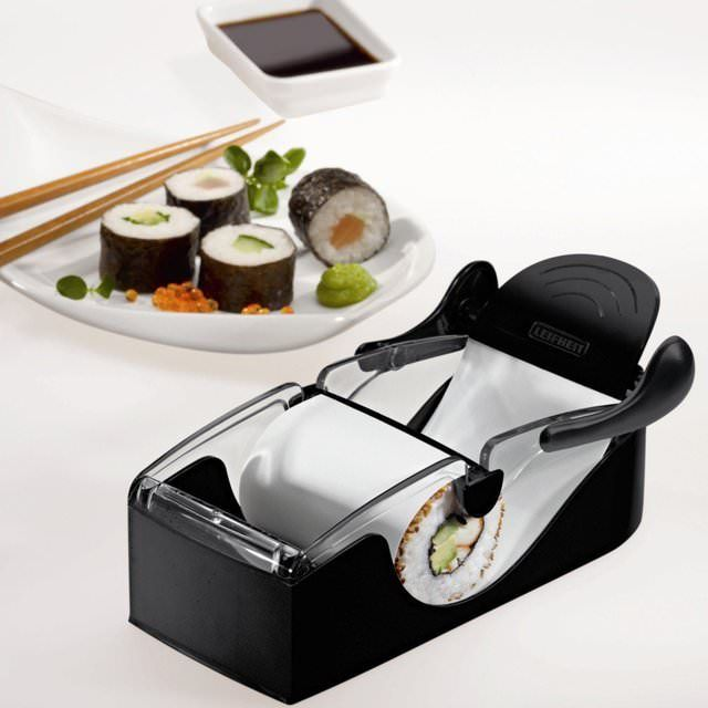 Perfect Sushi Roller by Leifheit - lifestylerstore - http://www.lifestylerstore.com/perfect-sushi-roller-by-leifheit/