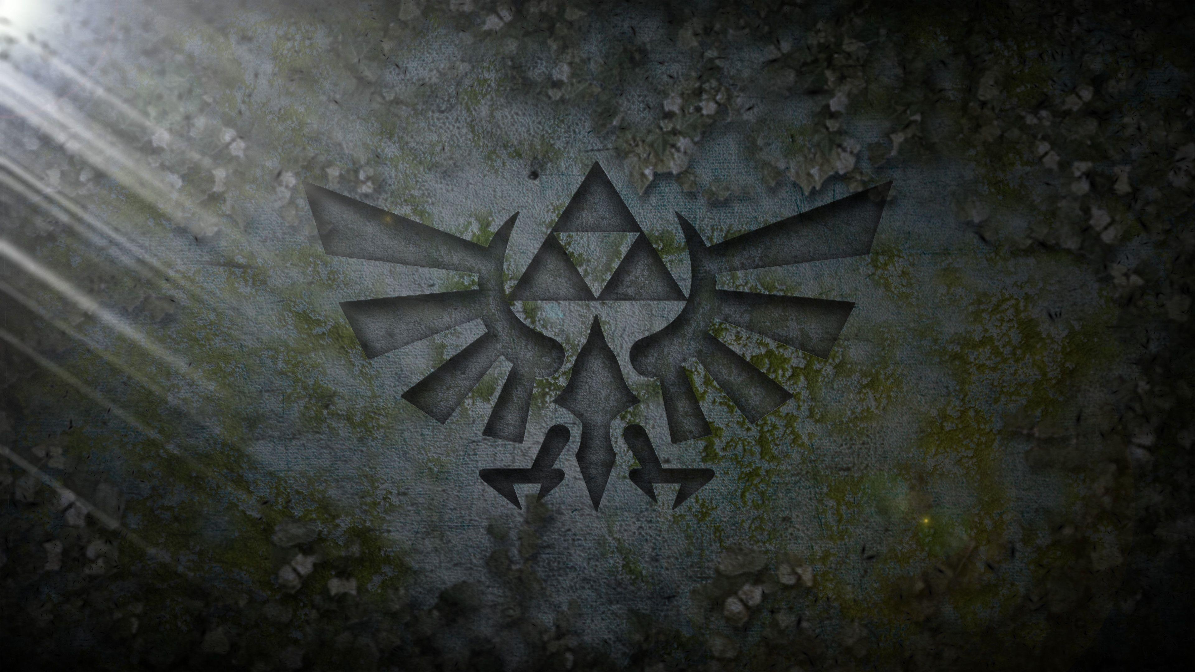 3840x2160 Triforce Stone Wallpaper 4k Zelda de Aalegre