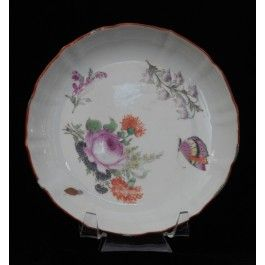 Teapot Stand Chinese James Giles Flowers C1745 Tea Pots Decorative Plates Chinese