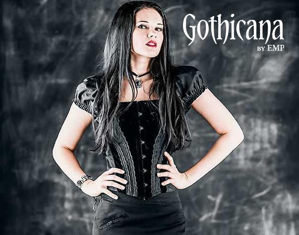 Ropa gotica #Goticana #gothicFashion EMP Online España • Tienda Rock •Heavy • Metal • Gótica y Alternativa emp.me/6mn