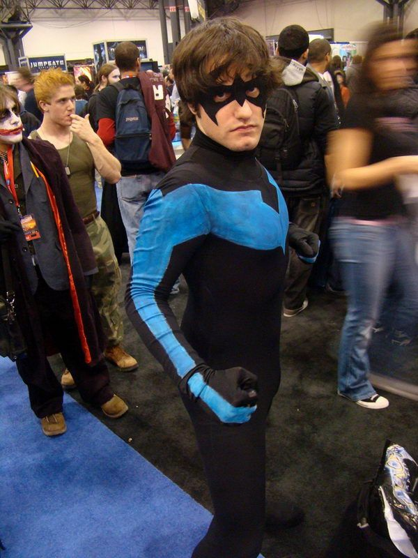 Nightwing Halloween Costume. Super Cool Character Costumes. With so many cool costumes to choose  sc 1 st  Pinterest & Nightwing Halloween Costume. Super Cool Character Costumes. With so ...