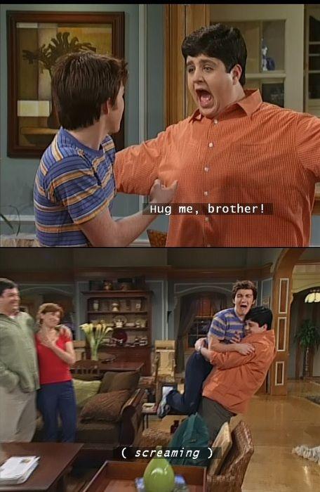 Drake and Josh -My reaction to my sister\'s hug...and my ...