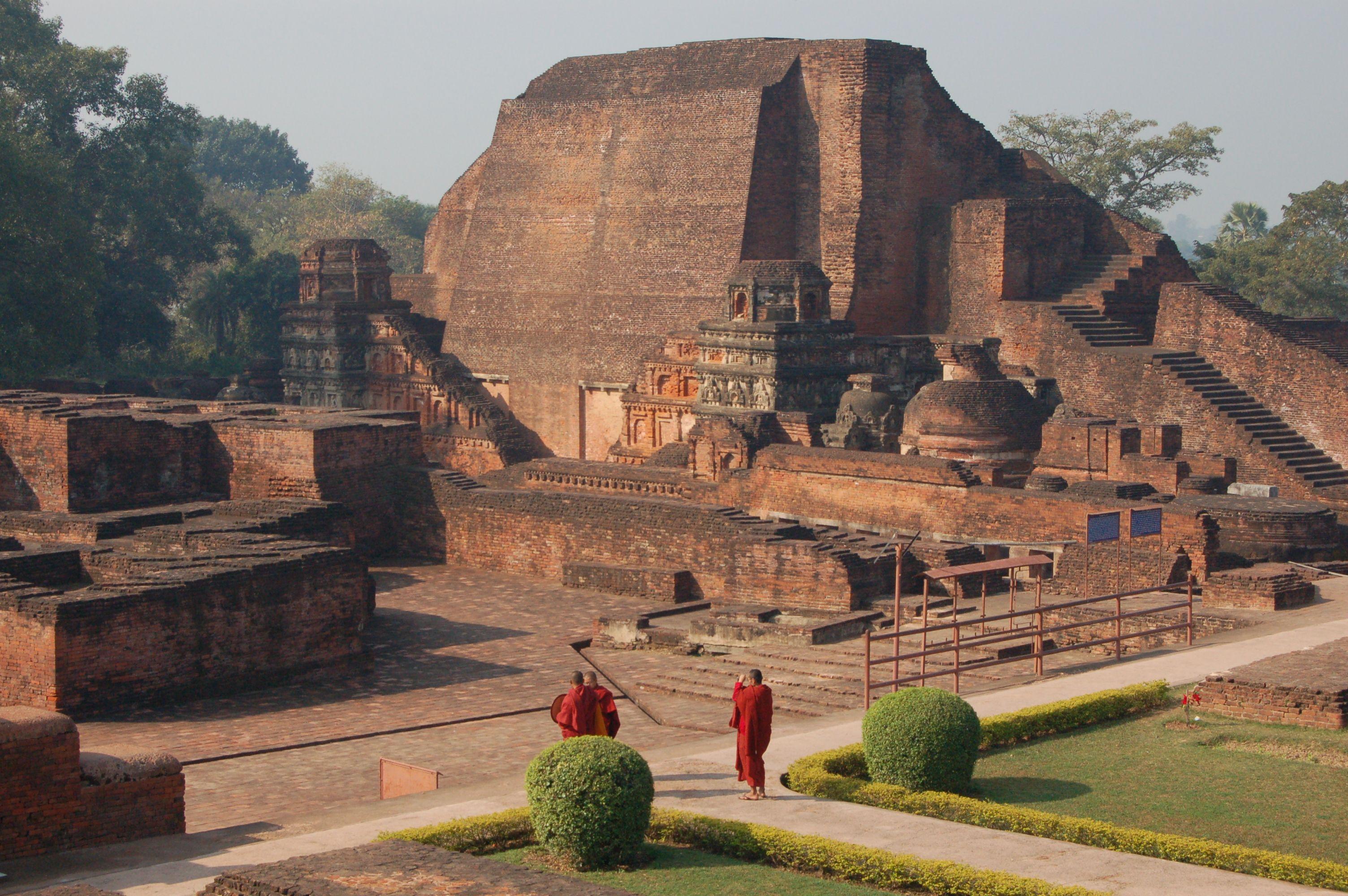 Nalanda University Beautiful Spaces Indian Architecture Art