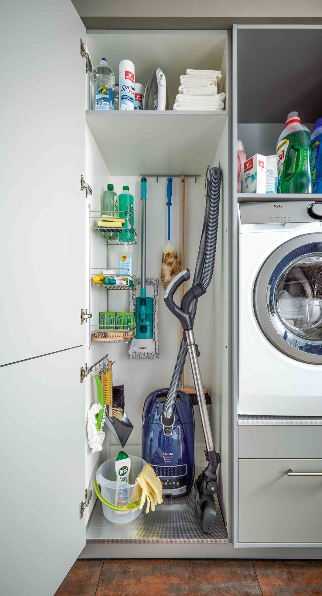 Make everyday tasks simple with these utility room storage ...