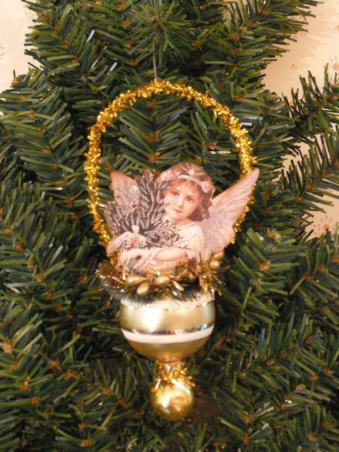 Victorian Christmas Tree Tinsel