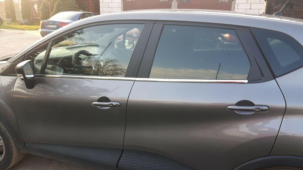 Renault Captur Chrom Zierleisten Tuning 3m Fensterrahmen Leisten Car Door Car